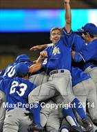 This MaxPreps.com professional photo is from the gallery Foothill vs. Santa Margarita (CIF DIV 1 Final) which features Santa Margarita high school athletes playing  Baseball.
