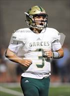 This MaxPreps.com professional photo is from the gallery Garces Memorial vs. St. John Bosco (Brothers in Arms Classic) which features Garces Memorial high school athletes playing  Football.