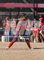 This MaxPreps.com professional photo features Brighton high school Tori Haug playing  Softball. This photo was shot by Jeffery Tucker and published on Tucker.