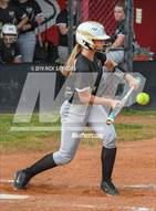 This MaxPreps.com professional photo is from the gallery Hayesville @ West Montgomery (NCHSAA 1st Round Playoff) which features Hayesville high school athletes playing  Softball.