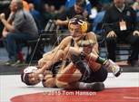 This MaxPreps.com professional photo is from the gallery CHSAA State Wrestling Championships (Day 2) which features Ellicott high school athletes playing  Wrestling. This photo was shot by Tom Hanson and published on Hanson.