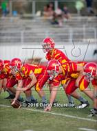 This MaxPreps.com professional photo is from the gallery Yuma Catholic @ Seton Catholic which features Seton Catholic high school athletes playing  Football.