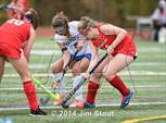 This MaxPreps.com professional photo features North Rockland high school Amanda Rafferty playing  Field Hockey. This photo was shot by Jim Stout and published on Stout.