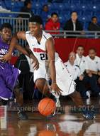 This MaxPreps.com professional photo is from the gallery Bishop Dunne vs. Lincoln (Thanksgiving Hoopfest) which features Bishop Dunne high school athletes playing  Basketball.