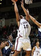 This MaxPreps.com professional photo is from the gallery St. Benedict's Prep vs Our Savior New American (Prime Time Shootout) which features St. Benedict's Prep high school athletes playing  Basketball.