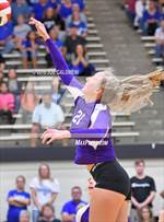 This MaxPreps.com professional photo features Boerne high school Emily Smith playing  Volleyball. This photo was shot by Joe Calomeni and published on Calomeni.