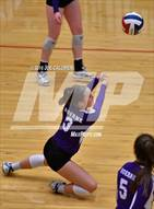 This MaxPreps.com professional photo is from the gallery Boerne vs La Vernia (Class 5A BiDistrict) which features Boerne high school athletes playing  Volleyball.