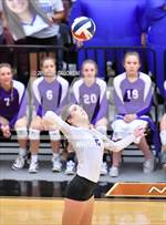 This MaxPreps.com professional photo features Boerne high school Abby Isenhart playing  Volleyball. This photo was shot by Joe Calomeni and published on Calomeni.