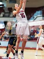 This MaxPreps.com professional photo features Sacred Heart Prep high school Charlotte Levison playing Girls Basketball. This photo was shot by Ted Walker and published on Walker.