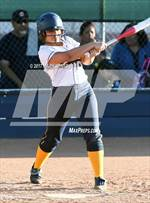 This MaxPreps.com professional photo features Glendale Prep Academy high school Sammie Cruz playing  Softball. This photo was shot by Mark Jones and published on Jones.