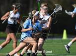 This MaxPreps.com professional photo features Hamden Hall Country Day high school  playing Girls Lacrosse. This photo was shot by Jim Stout and published on Stout.