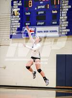 This MaxPreps.com professional photo features Napa high school Breck Hern playing  Volleyball. This photo was shot by Don Lex and published on Lex.