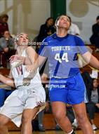 This MaxPreps.com professional photo is from the gallery La Jolla Country Day vs. Cardinal Newman (St. Mary's Stockton MLK Showcase) which features Cardinal Newman high school athletes playing Girls Basketball.