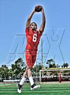 This MaxPreps.com professional photo is from the gallery Mater Dei (2016 Preseason Top 25 Early Contenders Photo Shoot)  which features Mater Dei high school athletes playing  Football.