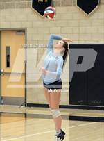 This MaxPreps.com professional photo features Valley Christian high school Taylor Fleming playing  Volleyball. This photo was shot by David Steutel and published on Steutel.