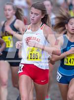 This MaxPreps.com professional photo is from the gallery CIF State Cross Country Championships (Girls D3 Race) which features Cathedral Catholic high school athletes playing Girls Cross Country. This photo was shot by Joe Bergman and published on Bergman.