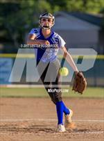 This MaxPreps.com professional photo features Falls City high school Katelyn Dziuk playing  Softball. This photo was shot by Lester Rosebrock and published on Rosebrock.