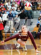 This MaxPreps.com professional photo is from the gallery Nazareth Academy @ Saint Ignatius College Prep which features Saint Ignatius College Prep high school athletes playing  Volleyball.