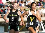 This MaxPreps.com professional photo is from the gallery CIF SS Division Championships (Girls 3200 Final) which features Sacred Heart of Jesus high school athletes playing Girls Track & Field. This photo was shot by Kevin Islander and published on Islander.