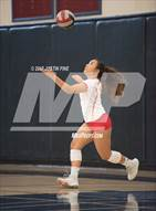 This MaxPreps.com professional photo is from the gallery Cathedral Catholic @ Scripps Ranch which features Cathedral Catholic high school athletes playing  Volleyball.