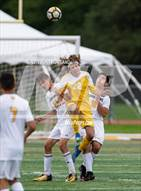 This MaxPreps.com professional photo is from the gallery Marian Catholic @ Carmel which features Marian Catholic high school athletes playing  Soccer.
