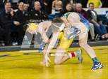 This MaxPreps.com professional photo is from the gallery 2018 NYSPHSAA Wrestling Championships - Finals 145 lbs - 160 lbs which features Chautauqua Lake high school athletes playing  Wrestling. This photo was shot by Ray Passaro and published on Passaro.