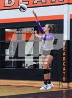 This MaxPreps.com professional photo is from the gallery North Side vs. Granbury (UIL 5A Bi-District Playoff) which features Granbury high school athletes playing  Volleyball.