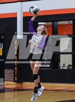 This MaxPreps.com professional photo features Granbury high school Yari Press playing  Volleyball. This photo was shot by Howard Hurd III and published on Hurd III.