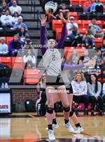 This MaxPreps.com professional photo features Granbury high school Savannah Smith playing  Volleyball. This photo was shot by Howard Hurd III and published on Hurd III.