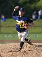 This MaxPreps.com professional photo is from the gallery Norwood @ Xaverian Brothers (MIAA D1 South Preliminary Round) which features Xaverian Brothers high school athletes playing  Baseball.