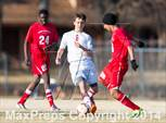 This MaxPreps.com professional photo is from the gallery Germantown vs Bartlett which features Germantown high school athletes playing  Soccer. This photo was shot by Theron Malone and published on Malone.