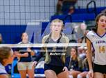This MaxPreps.com professional photo is from the gallery Helias @ Fatima which features Helias high school athletes playing  Volleyball. This photo was shot by Marty Beck and published on Beck.