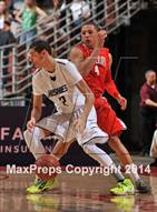 This MaxPreps.com professional photo is from the gallery Mater Dei vs. Chino Hills (CIF SS Open Division Final) which features Chino Hills high school athletes playing  Basketball.