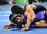 This MaxPreps.com professional photo is from the gallery CIF SS Masters Wrestling Championships (Day 1) which features Poly high school athletes playing  Wrestling. This photo was shot by Louis Lopez and published on Lopez.