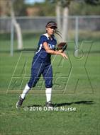 This MaxPreps.com professional photo is from the gallery Faith Baptist @ Desert Christian which features Faith Baptist high school athletes playing  Softball.