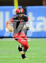 This MaxPreps.com professional photo features Welsh high school Austyn Benoit playing  Football. This photo was shot by Kenneth P Steib and published on Steib.