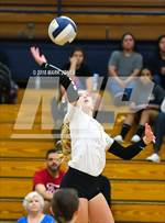 This MaxPreps.com professional photo features Prescott high school Kate Radavich playing  Volleyball. This photo was shot by Mark Jones and published on Jones.