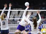 This MaxPreps.com professional photo features Middle Park high school Bailey Martin playing  Volleyball. This photo was shot by Matt Daniels and published on Daniels.