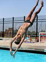 This MaxPreps.com professional photo is from the gallery CIF SJS Boys Diving Finals which features Merced high school athletes playing  Swimming. This photo was shot by Gerardo Coronado and published on Coronado.