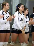 This MaxPreps.com professional photo is from the gallery Poly vs. Palisades (CIF LACS D2 Final) which features Palisades high school athletes playing  Volleyball.