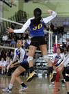 This MaxPreps.com professional photo is from the gallery Poly vs. Palisades (CIF LACS D2 Final) which features Poly high school athletes playing  Volleyball.