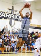 This MaxPreps.com professional photo is from the gallery Sierra Canyon vs Valencia (Heritage Christian Showcase) which features Sierra Canyon high school athletes playing  Basketball.