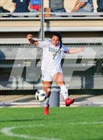 This MaxPreps.com professional photo features Reagan high school Angela Baltimore playing Girls Soccer. This photo was shot by Joe Calomeni and published on Calomeni.