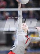 This MaxPreps.com professional photo is from the gallery Chatfield vs. Denver East (CHSAA 5A Pool 2 Playoff) which features Denver East high school athletes playing  Volleyball.