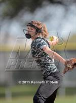 This MaxPreps.com professional photo features South Terrebonne high school Lauren Cavalier playing  Softball. This photo was shot by Kenneth P Steib and published on Steib.
