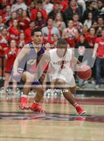 This MaxPreps.com professional photo is from the gallery Lemoore @ Hanford which features Hanford high school athletes playing  Basketball. This photo was shot by Richard Posada and published on Posada.