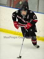 This MaxPreps.com professional photo is from the gallery New Canaan @ Notre Dame-Fairfield which features New Canaan high school athletes playing  Ice Hockey.