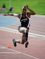 This MaxPreps.com professional photo is from the gallery CIF State Championships (Finals) which features Norco high school athletes playing  Track & Field. This photo was shot by Kirby Lee and published on Lee.