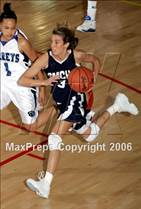 This MaxPreps.com professional photo is from the gallery Santa Margarita vs. La Jolla Country Day (SD Winter Showcase) which features Santa Margarita high school athletes playing Girls Basketball.
