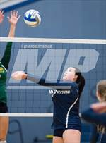 This MaxPreps.com professional photo features Vista del Lago high school Alexis Gonzales playing  Volleyball. This photo was shot by Robert Schlie and published on Schlie.